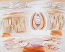 VESPEIRA, Óleo sobre tela, 81x100 cm