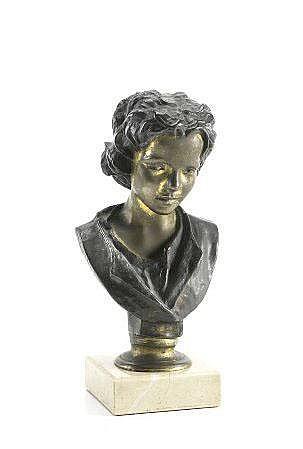 SOARES DOS REIS, Escultura em bronze SOARES DOS