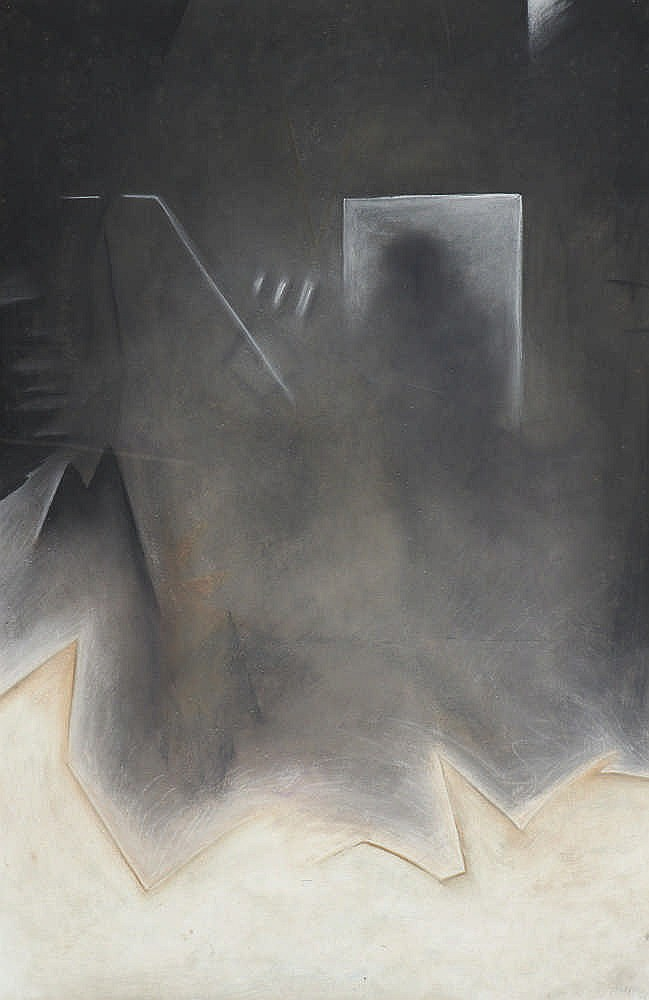Raymundo SESMA, Pastel sobre papel, 100 x 64 cm.