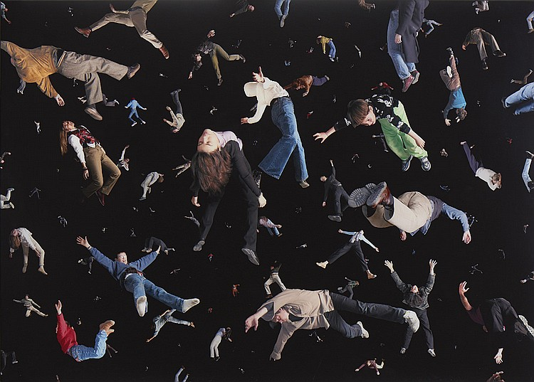 Daniel Canogar, cibachrome s/ madeira, 120 x 167,5
