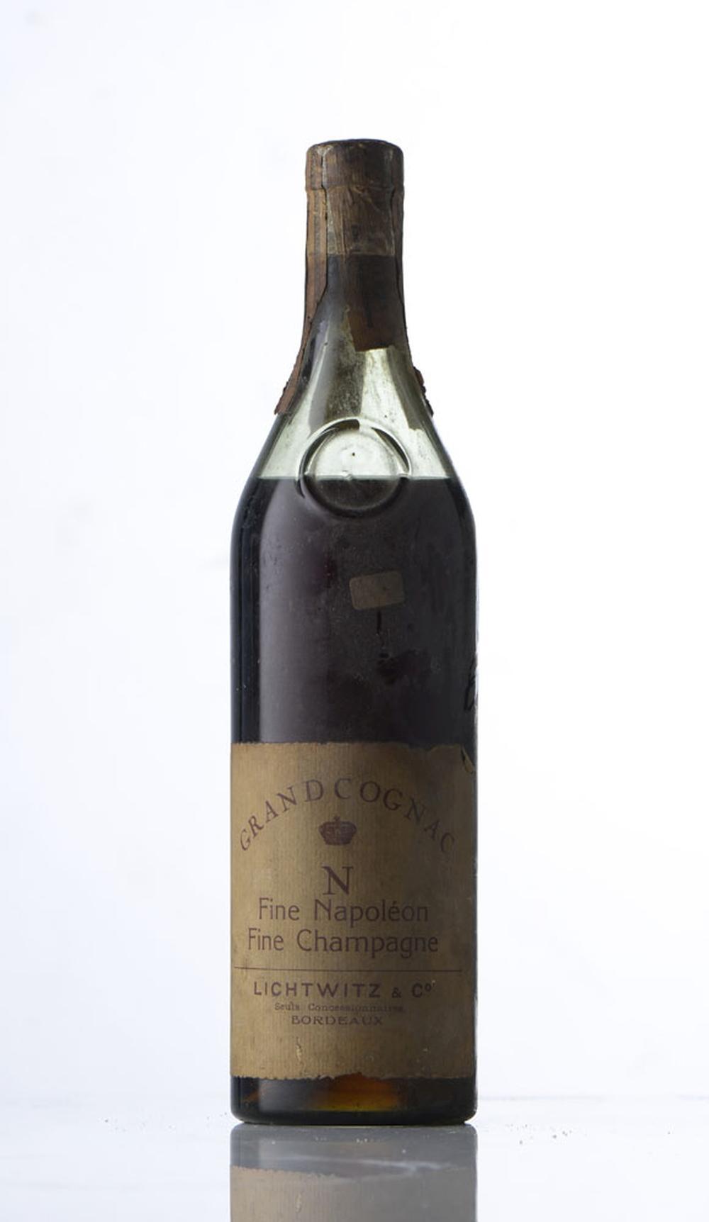Lichtwitz & Cº, Grand Cognac, Fine Napoléon 1 gfa.