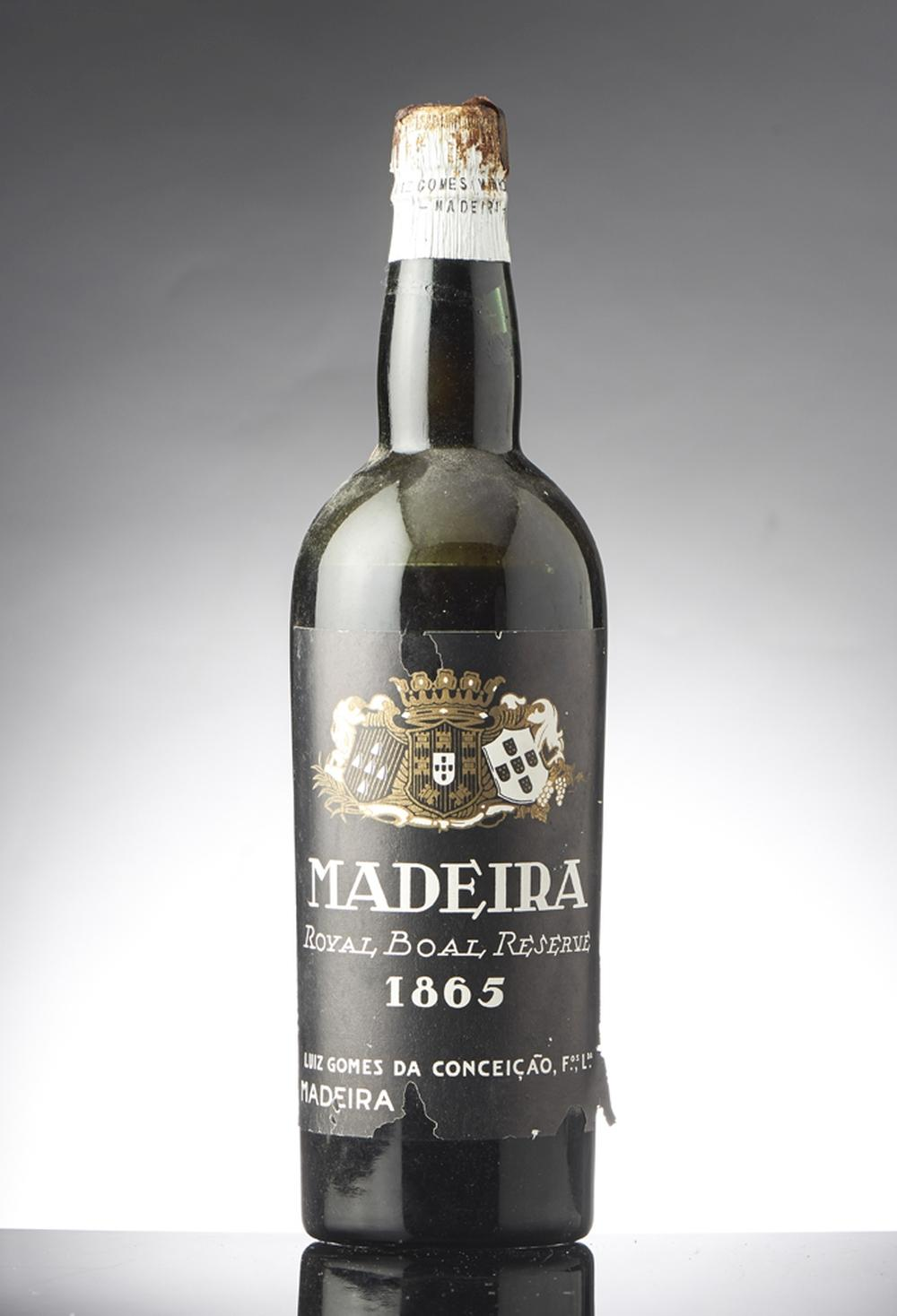 Madeira, Royal Boal Reserve, 1865, 1 gfa.