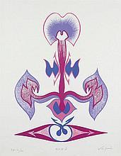 VESPEIRA, serigrafia s/ papel, 65,5 x 47,5 cm.