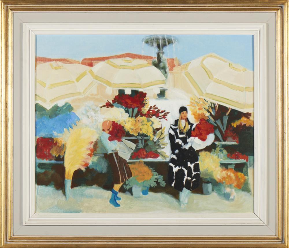 ANTÓNIO SOARES, óleo s/ tela, 60 x 74 cm