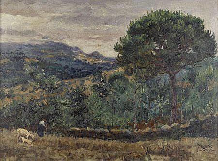 José Campas; Montachique, Dim.: 35,5 x 48,5 cm.