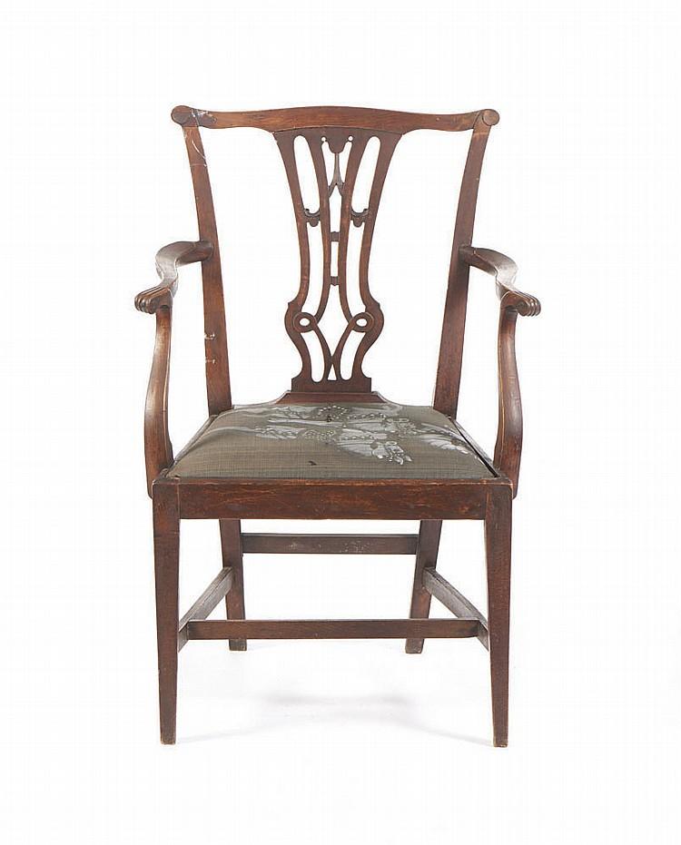 Cadeira de bra os estilo ingl s - Sofas de estilo ingles ...