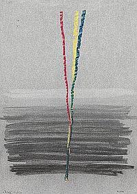 Angelo de Sousa, téc.mista, 30x21 cm ÂNGELO DE