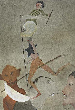 Mário Botas, 'A estrela da morte', 26 x 18 cm