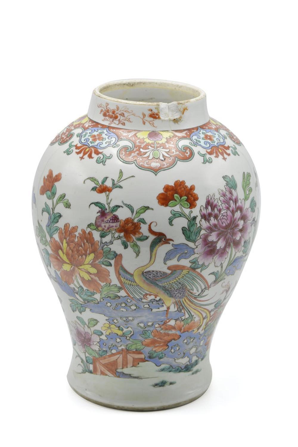 Pote em porcelana chinesa CI