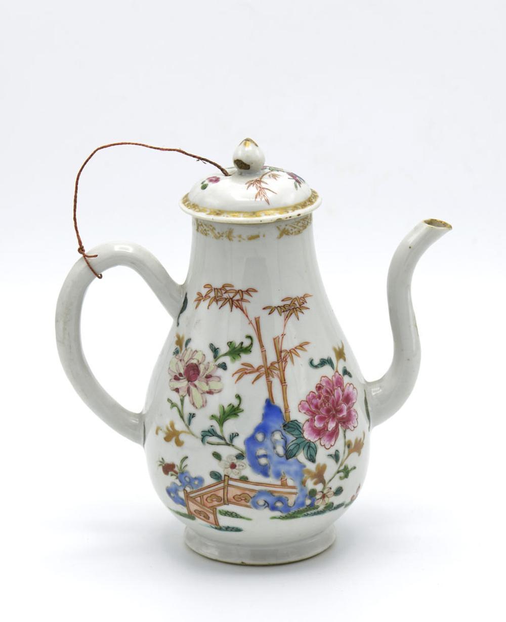 Cafeteira em porcelana chinesa CI