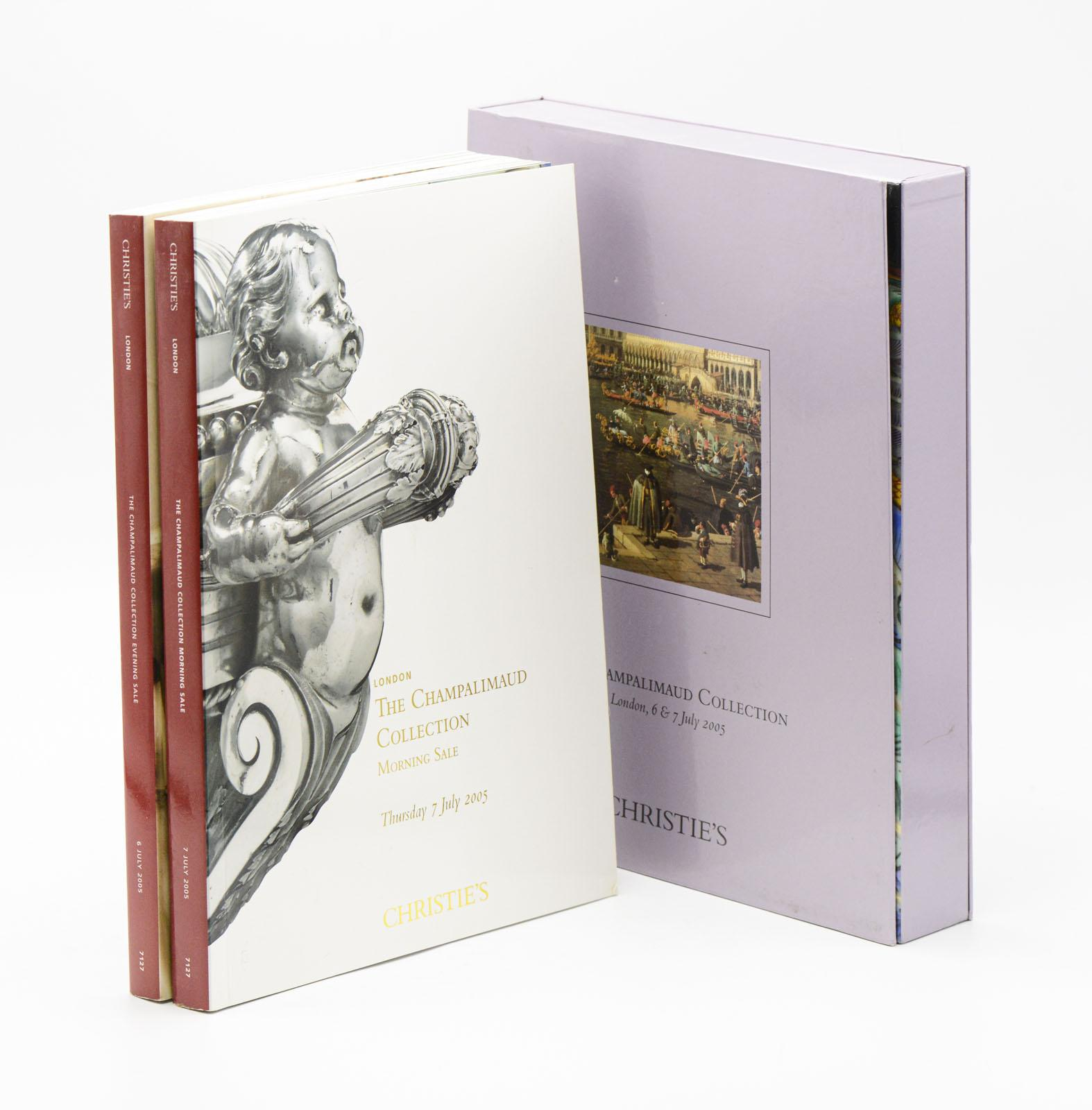 THE CHAMPALIMAUD COLLECTION, Christie's, 2 vols.
