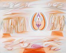 VESPEIRA, oil on canvas, 81x100 cm