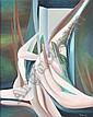Moniz, Sem título, óleo s/tela, Dim.: 92 x 73 cm