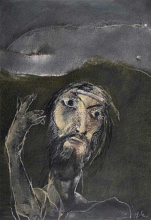 JOSÉ RODRIGUES (n.1936), Pastel,Dim.: 99 x 68,5 cm