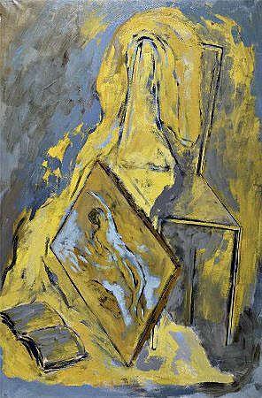 Ilda David, óleo s/tela, 149 x 99,5 cm. ILDA