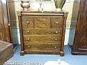 A Victorian mahogany 'Scotch' chest of seven