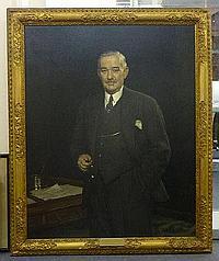 Harold Knight (1874-1961) A three quarter length