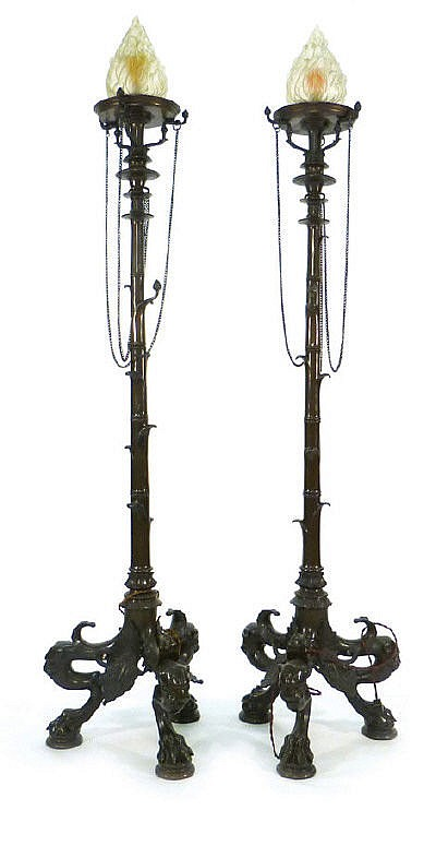 After the Antique: A pair of late 19th century