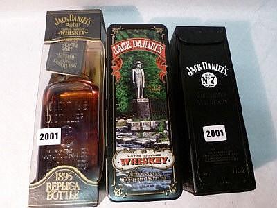 3 bottles of Jack Daniel's Tennessee Whiskey