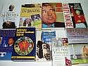 Collection of x9 assorted football related books
