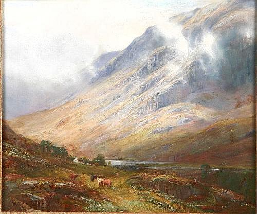 WILLIAM LAKIN TURNER (British, 1867-1937) GLENCOE,