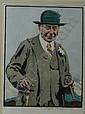 (L.I) Joseph Simpson (British 1879-1939) A, Joseph Simpson, Click for value