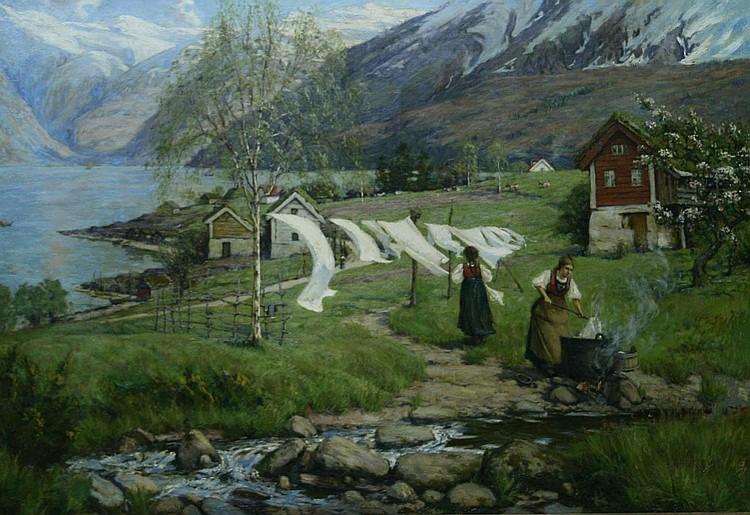 (L.I) Alfred Heaton Cooper (British 1864-1929) A