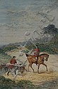 Watercolour: Ernest Griset (French 1844-1907) A, Ernest Henry Griset, Click for value