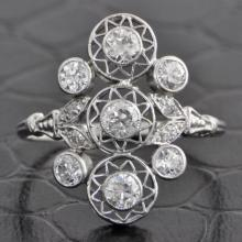Edwardian Old European Cut Diamond Ring