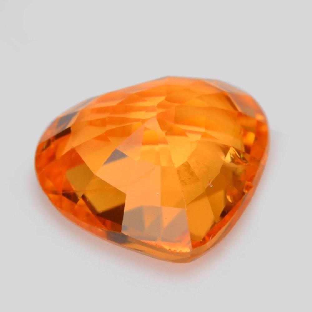 Amazing quality lustre fancy orange colour natural spessartite garnet