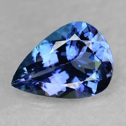 Rare Blue Colour Natural Tanzanite 3ct