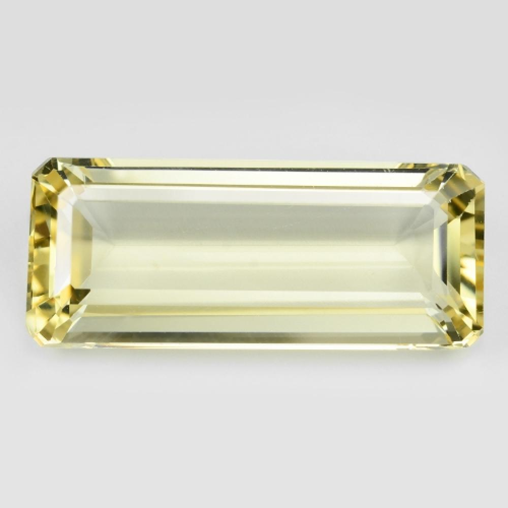 Yellow Colour Natural Andesine 22.45ct