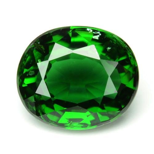 Green Colour Natural Chrome Tourmaline Gemstone 1.25ct