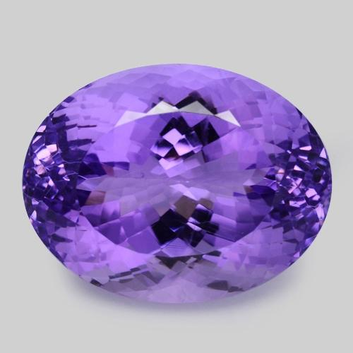 Top Purple Colour Natural Amethyst 27.02ct