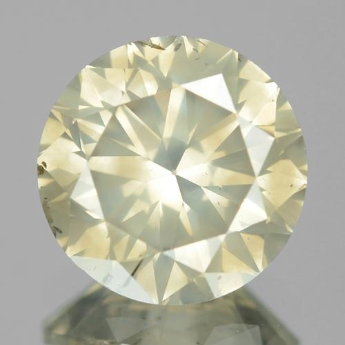 Untreated Natural Fancy Greenish Brown Colour Loose Diamond 1.51ct