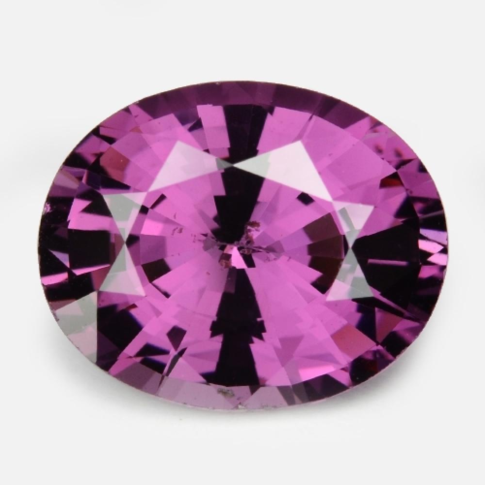European Cut Natural Purple Pink Colour Sapphire 2.47ct