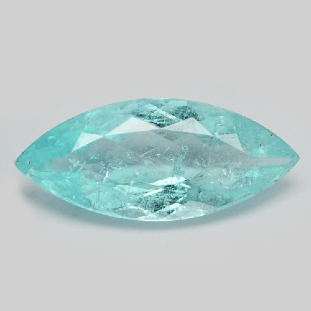 GIA Certified Natural Copper Bearing Blue Paraiba Tourmaline 2.16ct