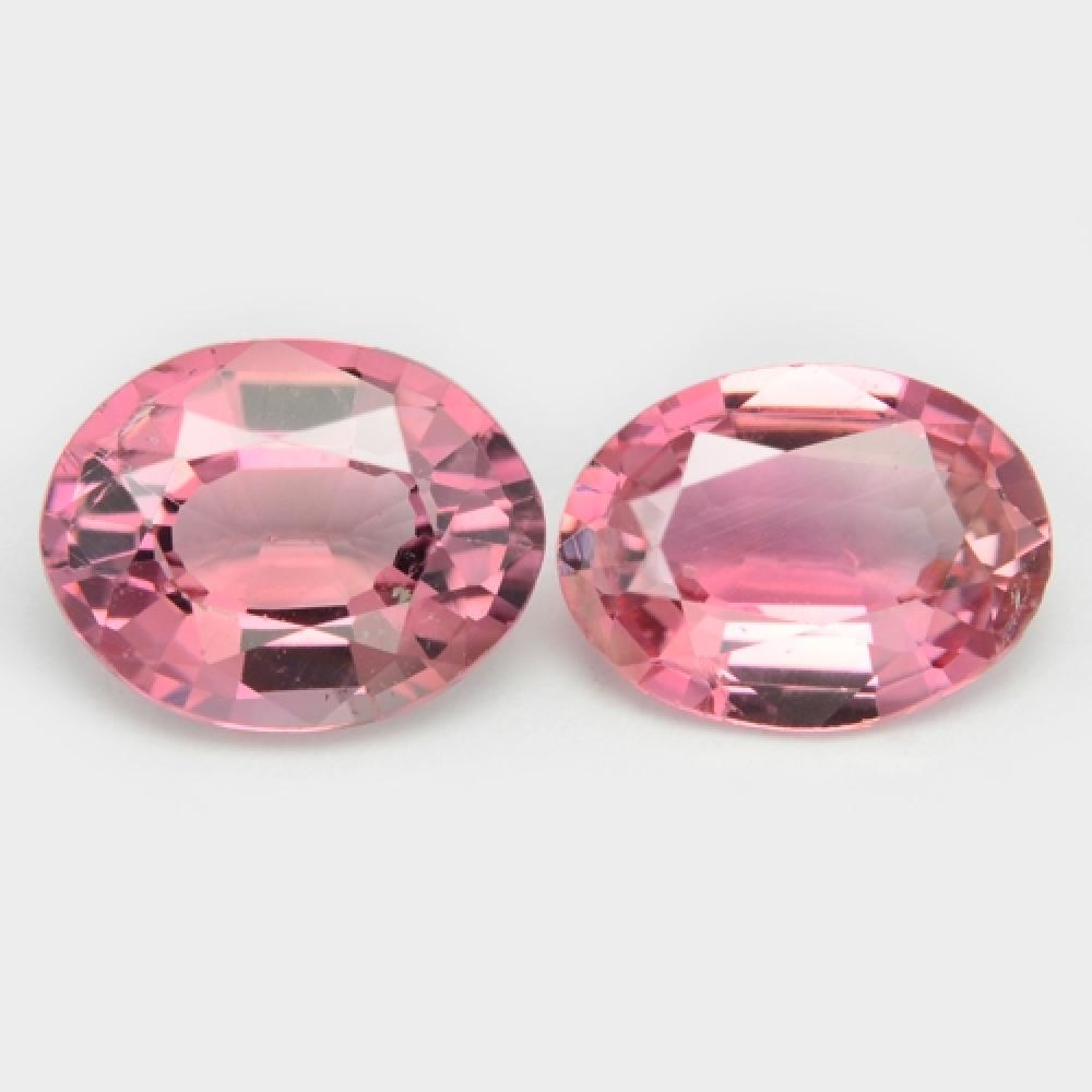 Pair Of Pink Natural Tourmaline 2.31ct