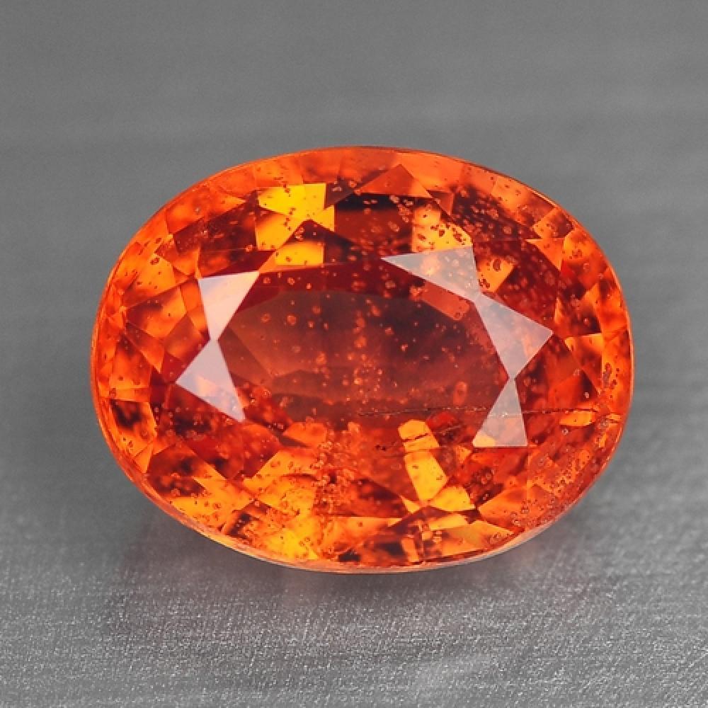 Orange Colour Natural Sapphire 1.49ct