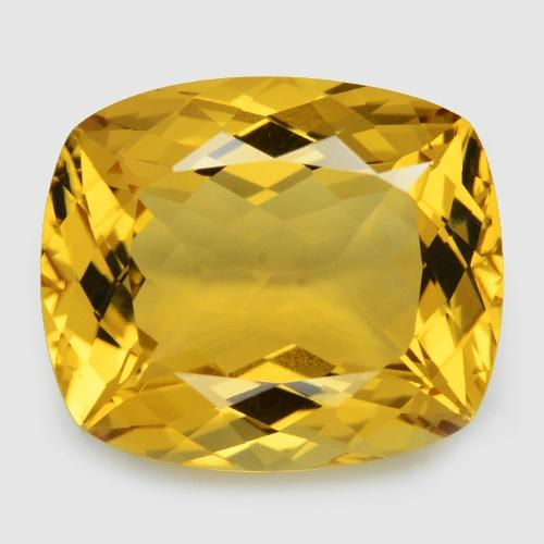 Golden Yellow Colour Natural Citrine 19.57ct