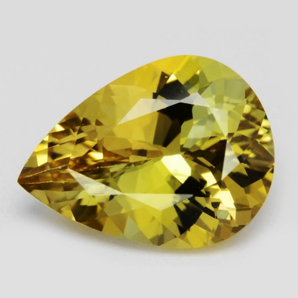 Unheated Natural Yellow Colour Tanzanite 1.16ct