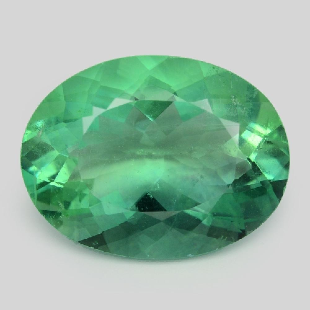 AAA Green Colour Natural Fluorite 12.37ct