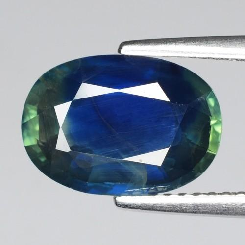 4.05 Carat Unheat Fancy Blue-Green Colour Natural Party Sapphire Loose Gemstone