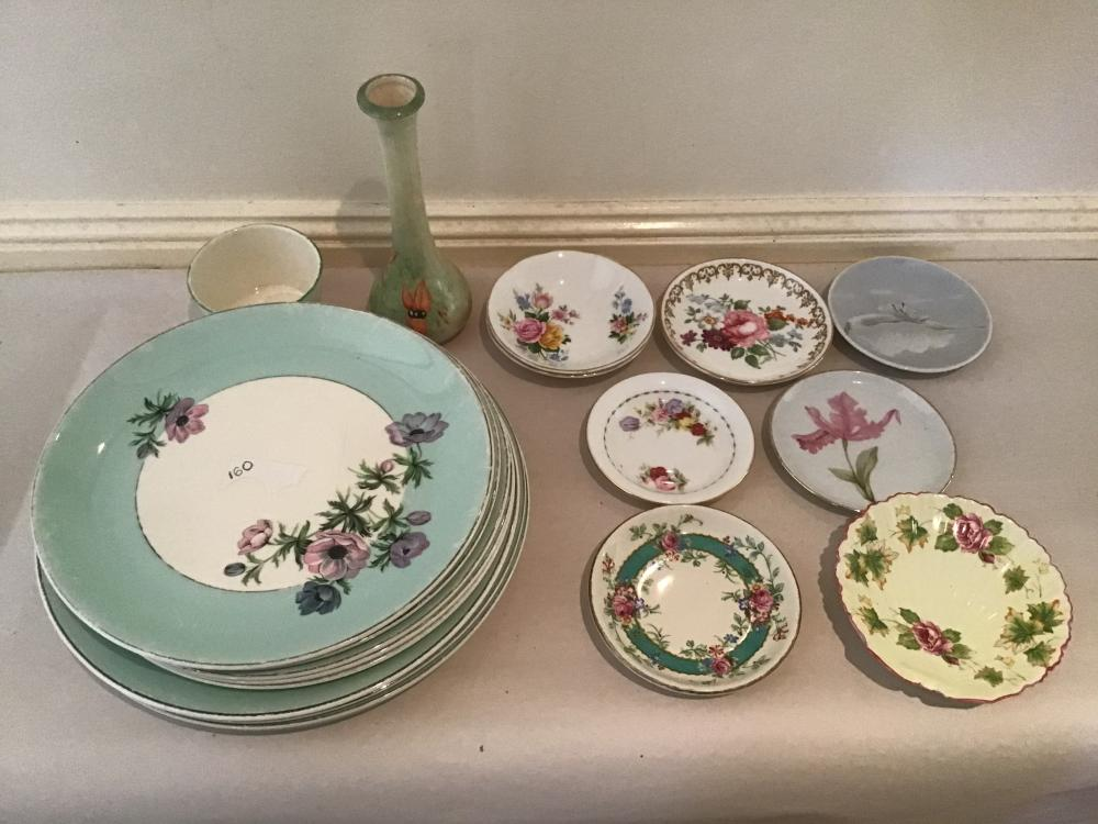 19 piece lot assorted English china including Johnstone, Shelley and Grafton