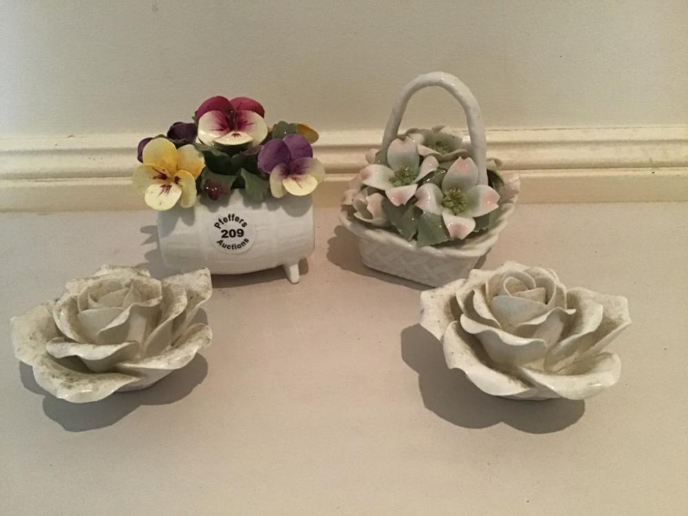 4 piece lot Royal Albert, Aynsley and other china
