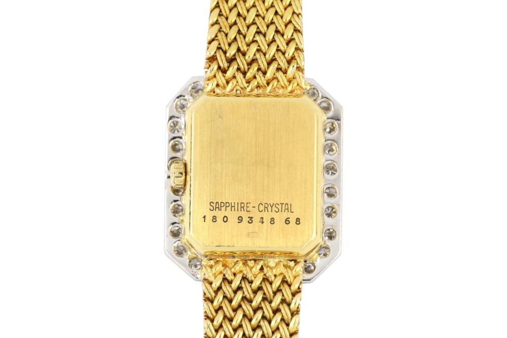 Ladies 18ct gold Swiss Certina diamond set quartz watch, Weight 34.00 grams
