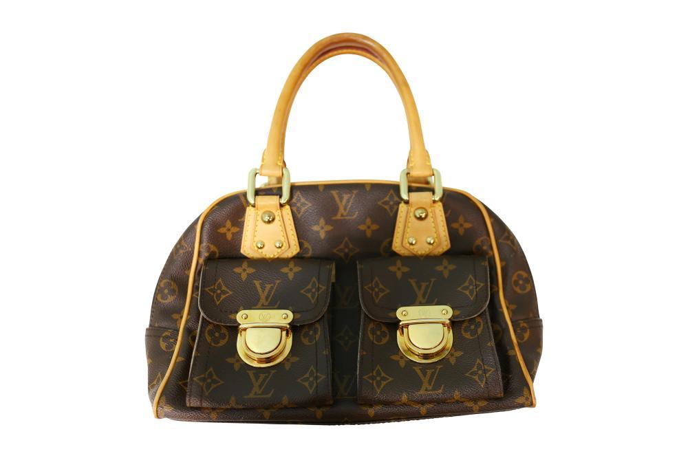 Louis Vuitton Monogrammed Manhattan handbag