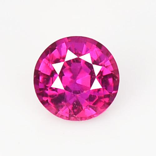 0.32 Carat Unheated AAA Pink Color Natural Ruby Loose Gemstone