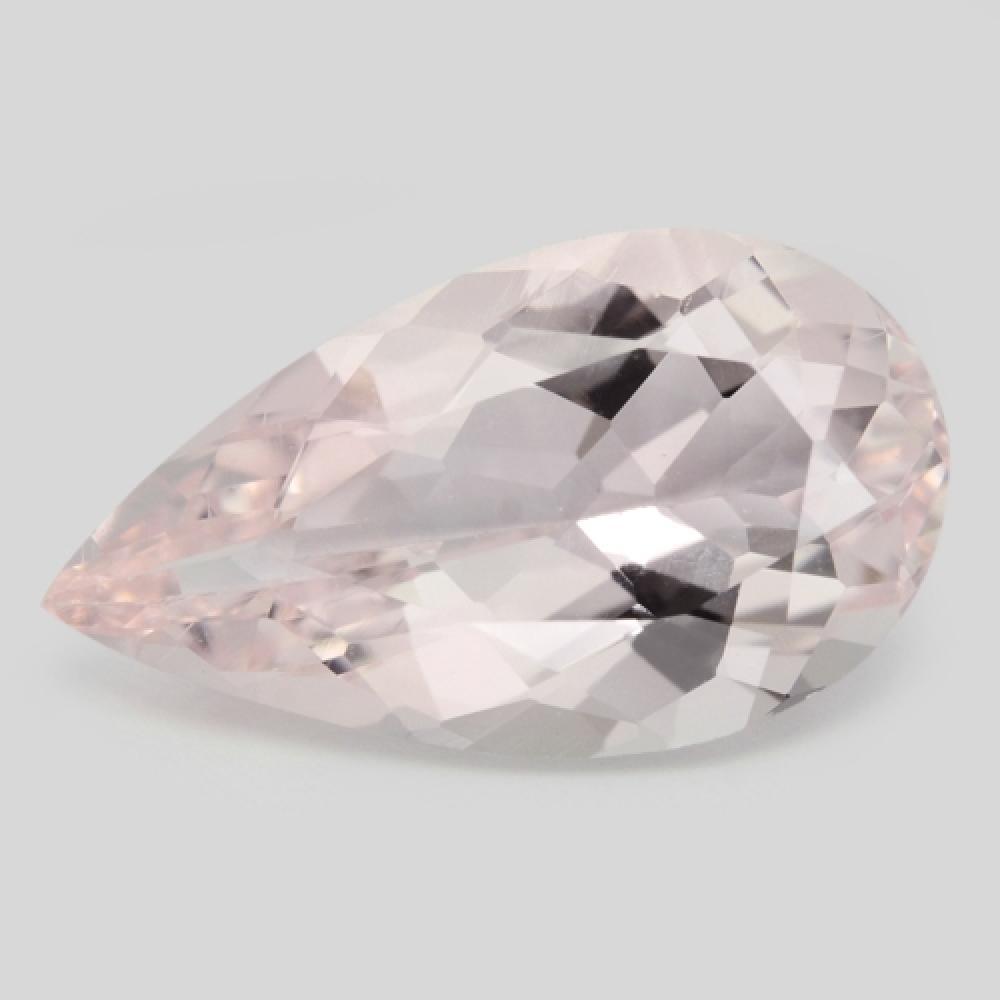 2.70 Carat Excellent Top Pink Color Natural Morganite Gemstone
