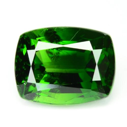 2.48 Carat Fancy Vivid Green Color Natural Chrome Tourmaline Loose Gemstone
